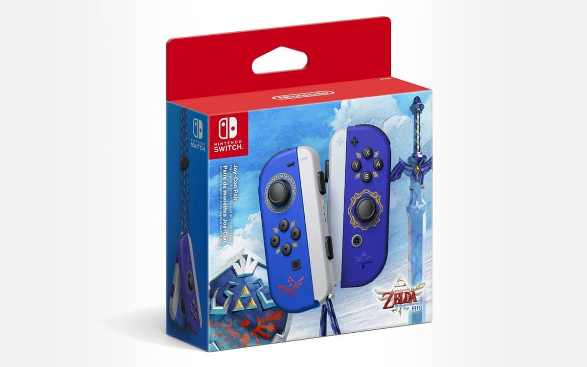 Joy-Con Zelda Skyward Sword pas cher