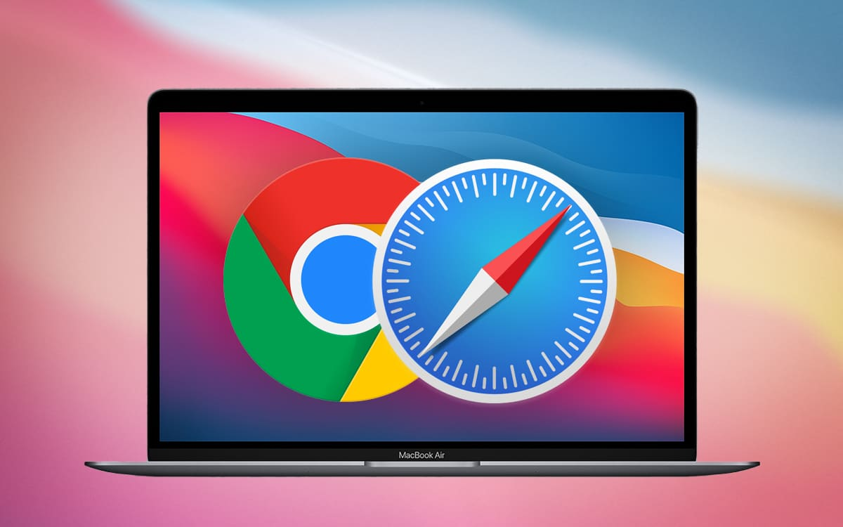 MacBook Air M1 Chrome Safari