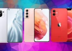mi11 s21 iphone12