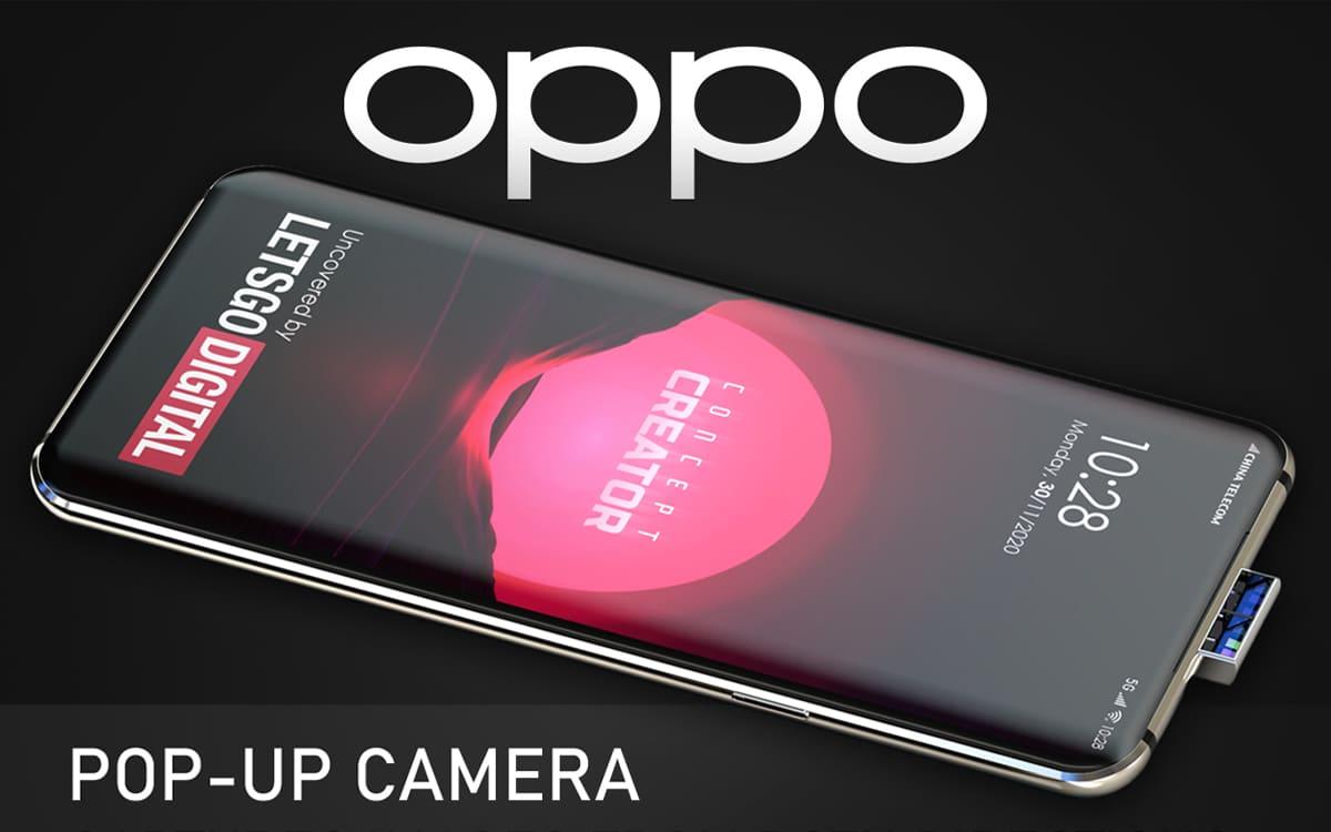 Oppo veut cacher tous les capteurs photo, même ceux à l'arrière des téléphones - PhonAndroid