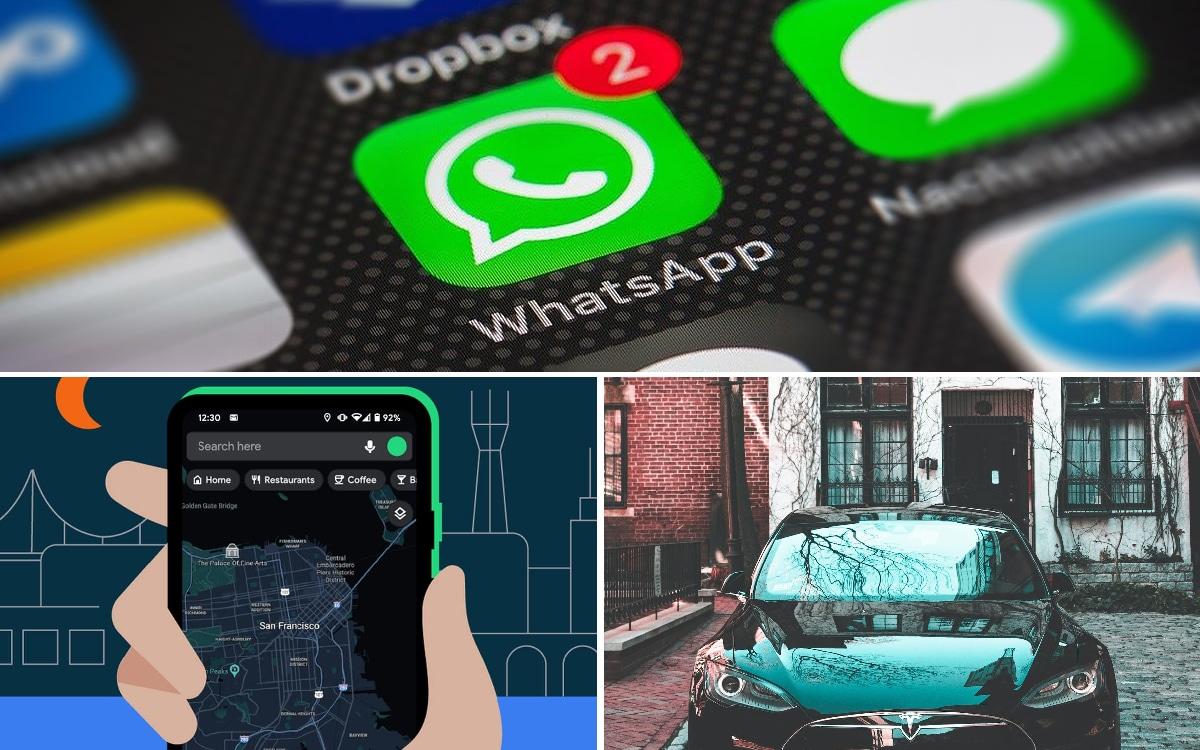 WhatsApp bloque ses utilisateurs, Google Maps s'habille du mode sombre, le récap de la semaine - PhonAndroid