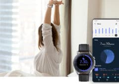 samsung health fin support