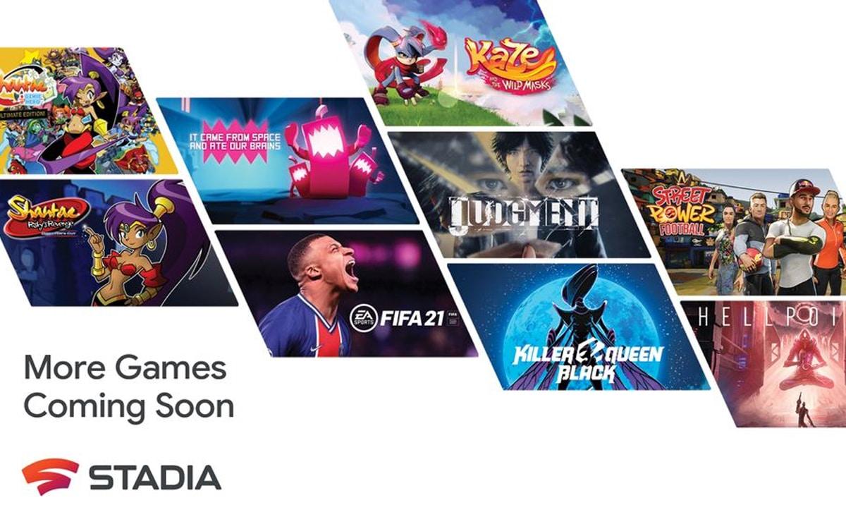 stadia 2021 jeux
