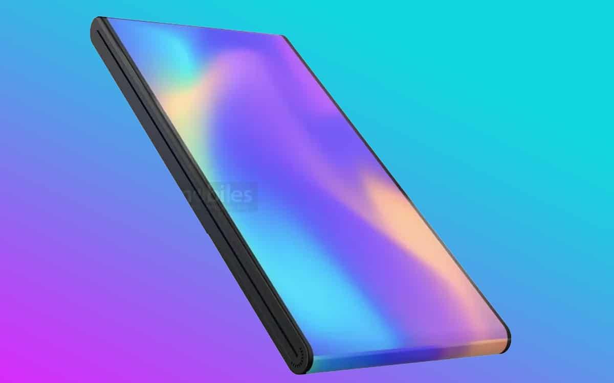vivo smartphone pliable plie arrière