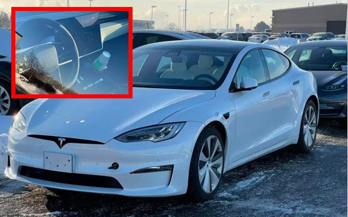 Tesla Model S 2021 volant