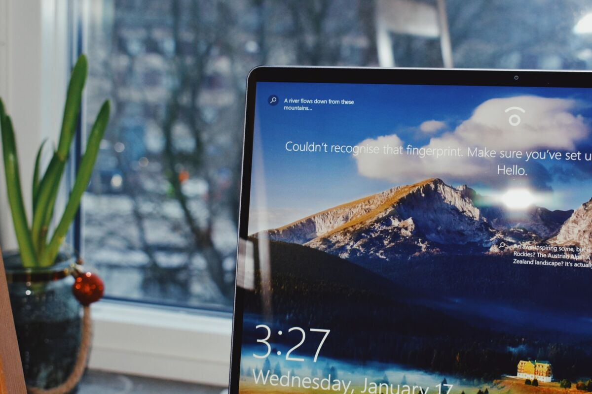 Windows 10 login session