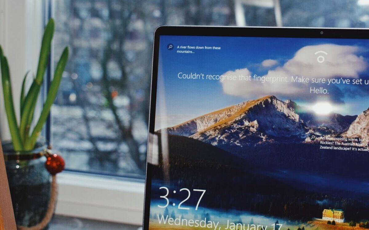 Windows 10 connexion session