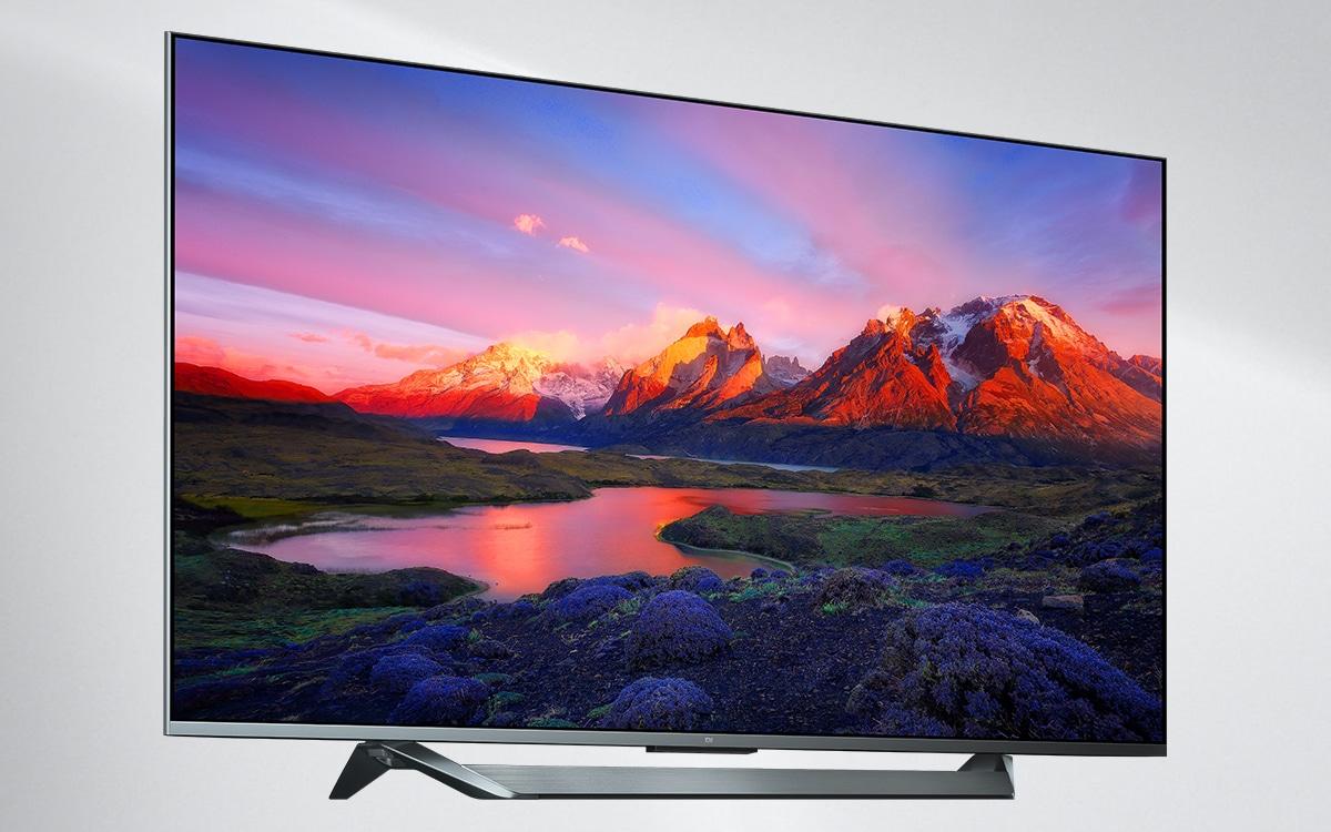 """Xiaomi Mi TV Q1 75"""" design"""