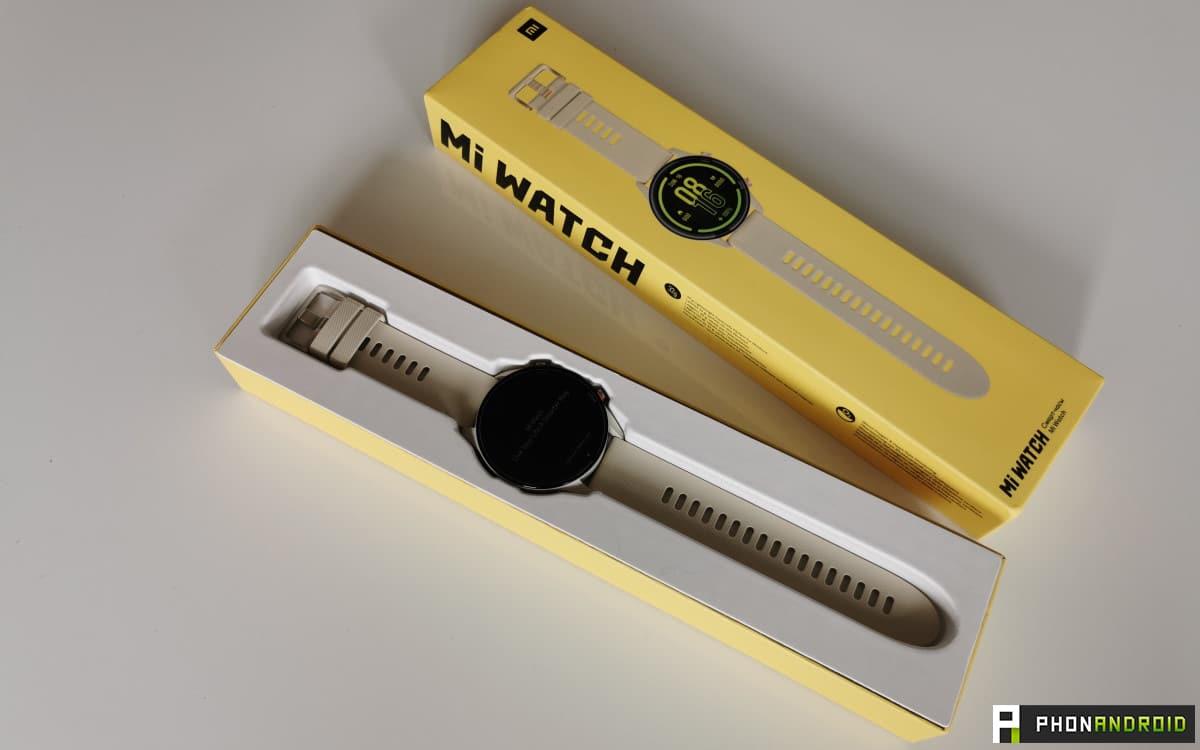 Xiaomi Mi Watch packaging