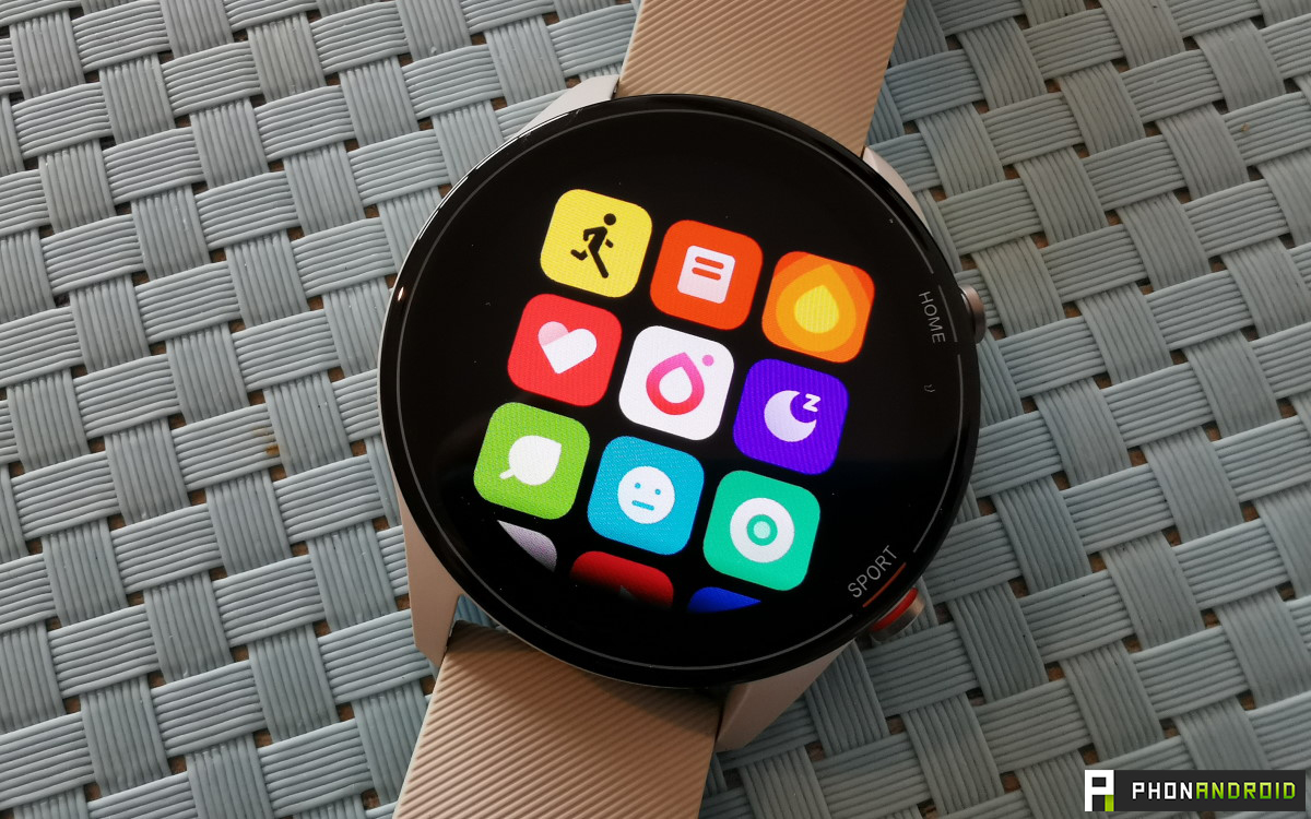 Xiaomi Mi Watch qualite ecran