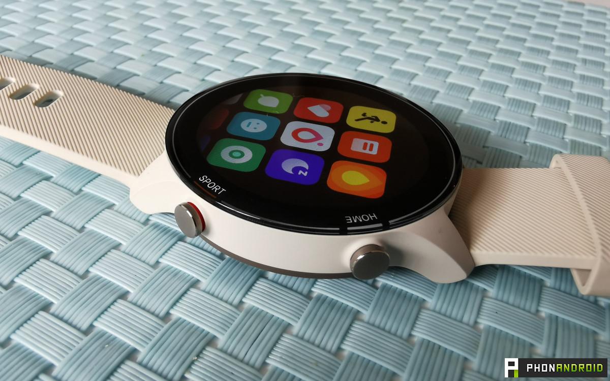 Xiaomi Mi Watch boutons