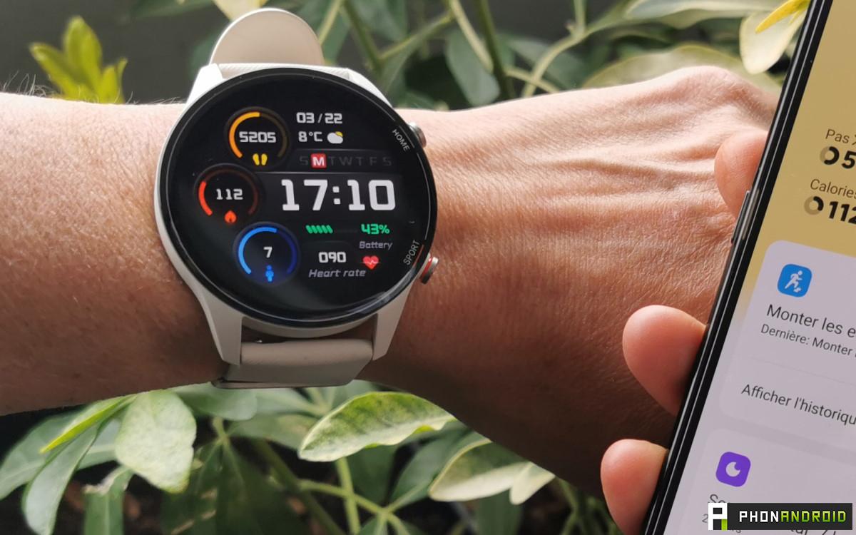 Xiaomi Mi Watch petit poignet