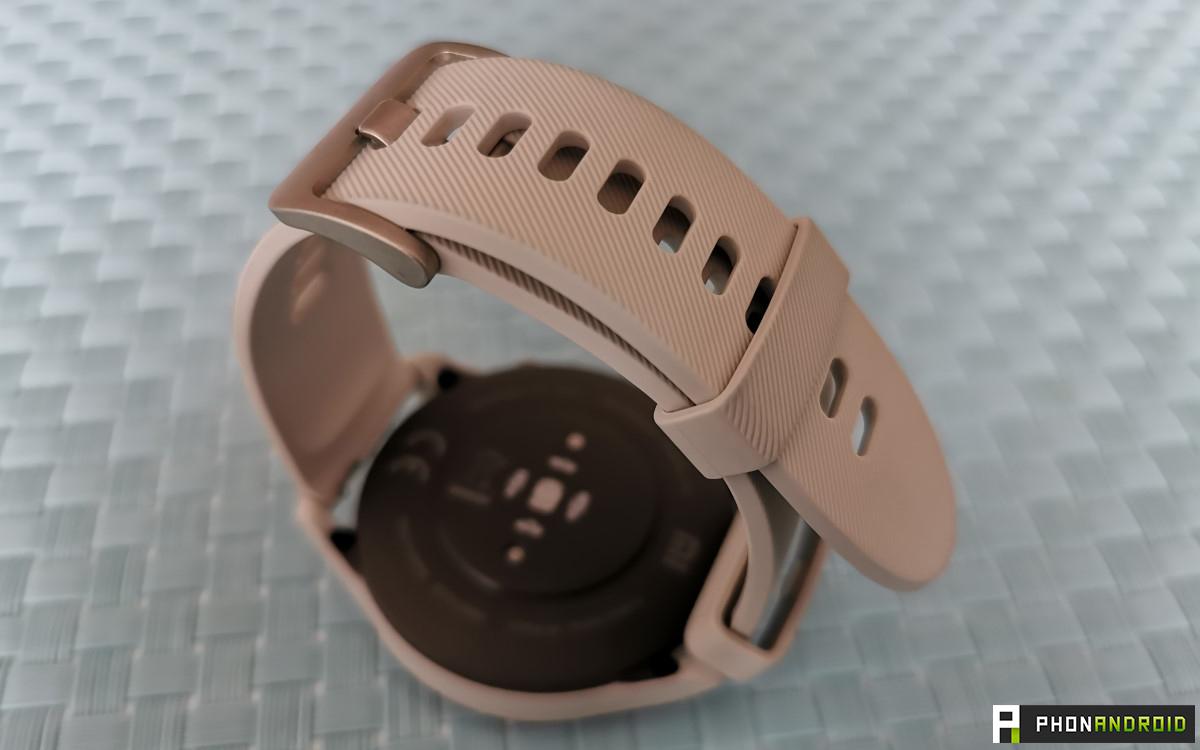 Xiaomi Mi Watch bracelet texture