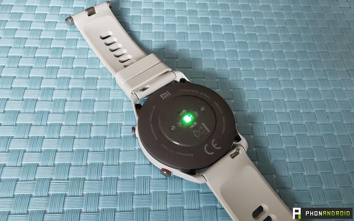 Xiaomi Mi Watch cardiofrequencemetre
