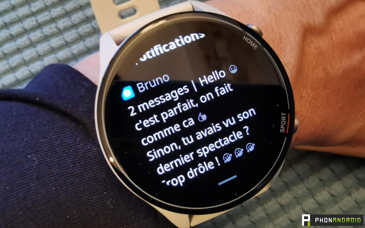 Xiaomi Mi Watch sms