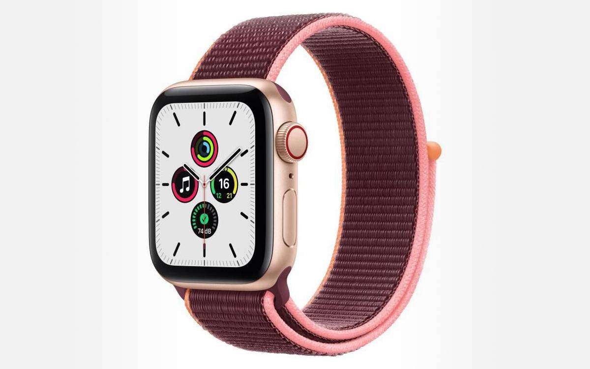 Apple Watch SE en promo chez Cdiscount