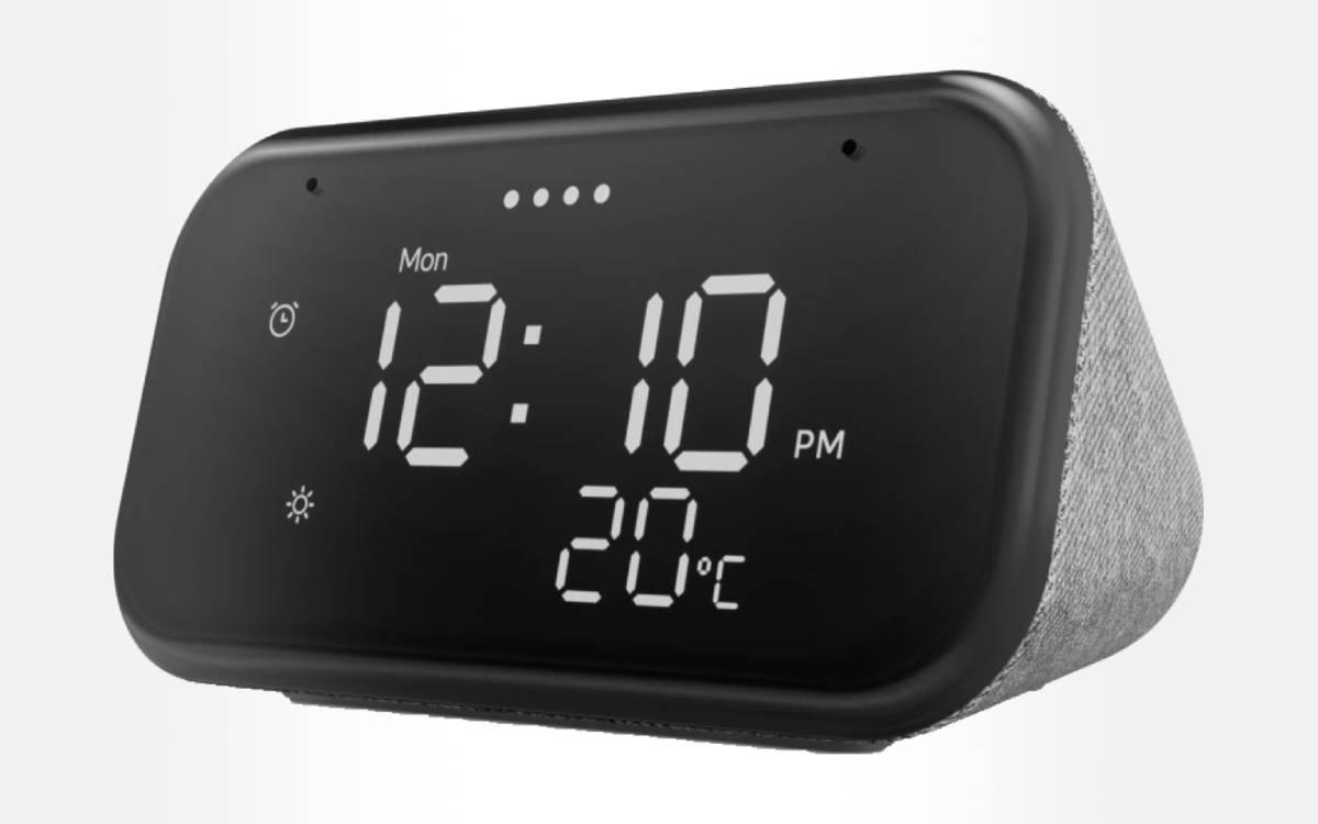 Lenovo Smart Clock Essential connected alarm clock
