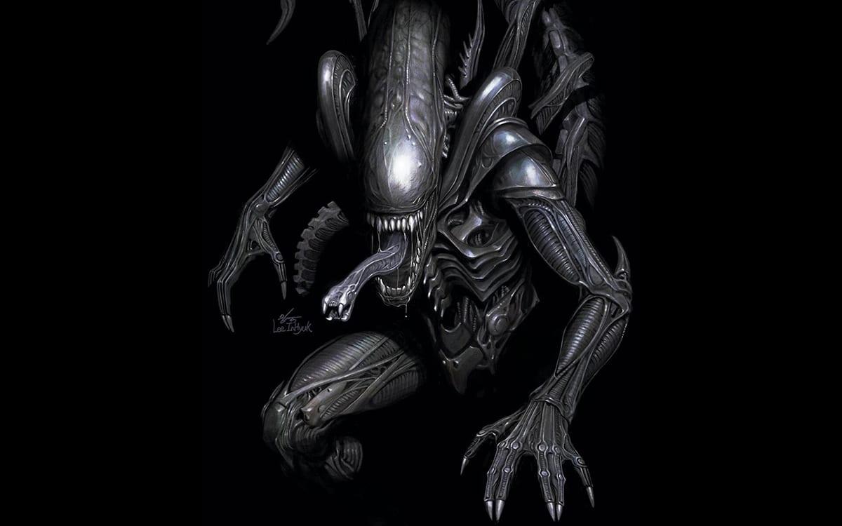 Marvel Alien Cover