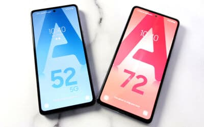 Samsung Galaxy A52 5G et Galaxy A72