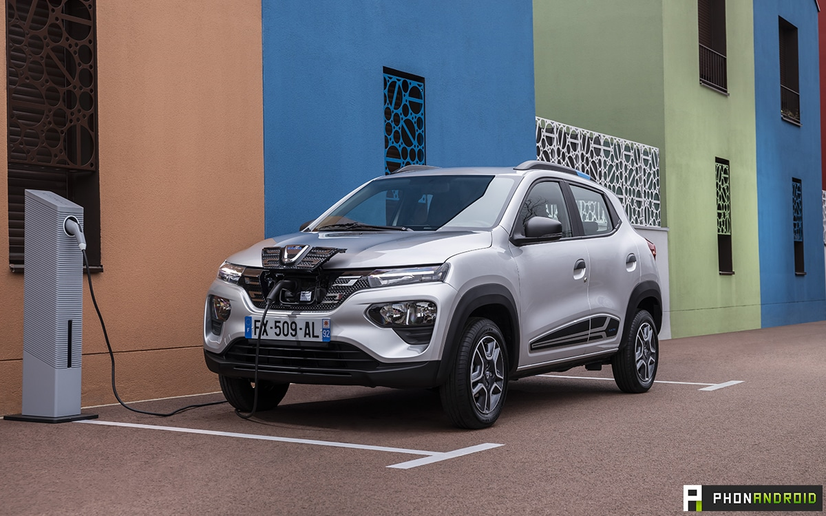 Test Dacia Spring