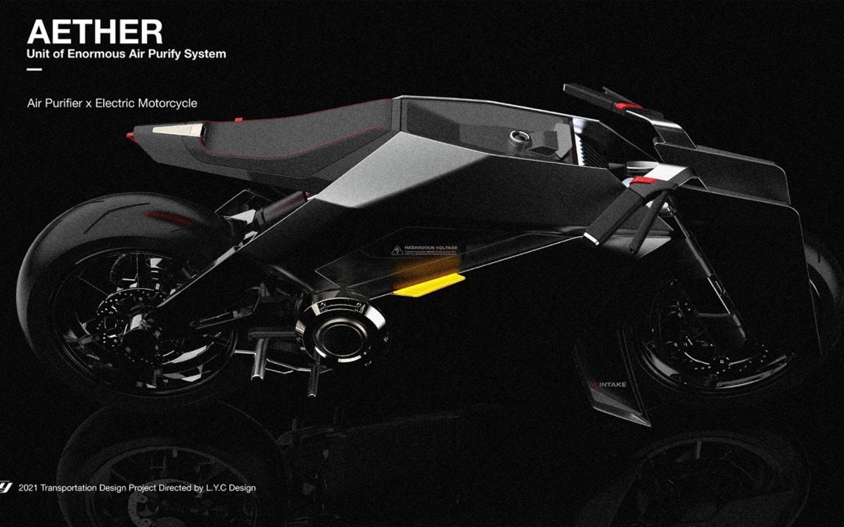 aether concept moto électrique