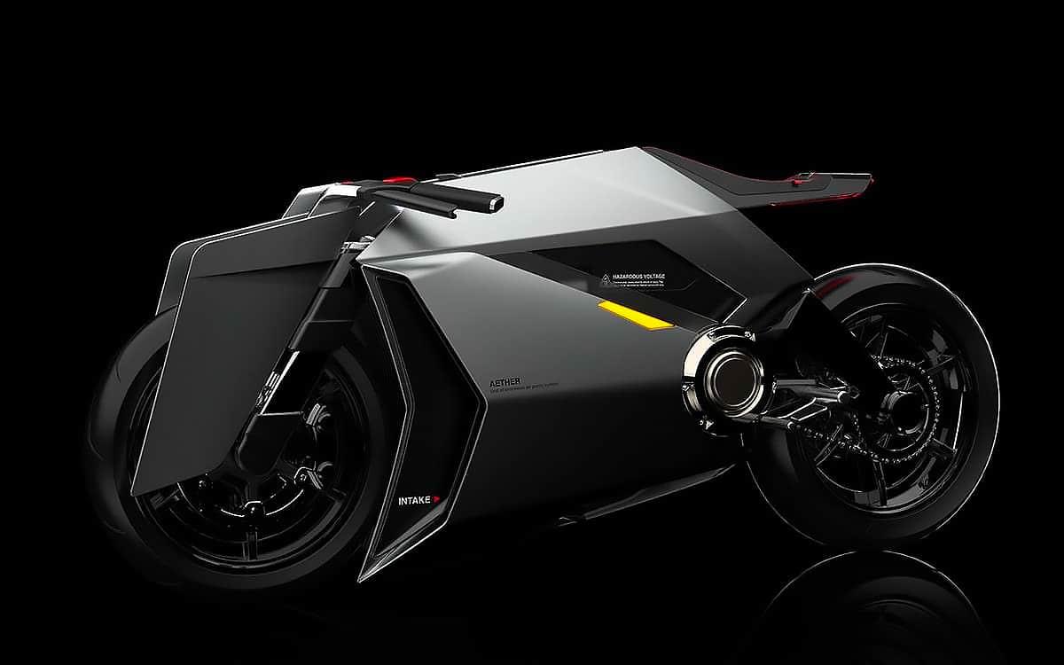 aether moto électrique