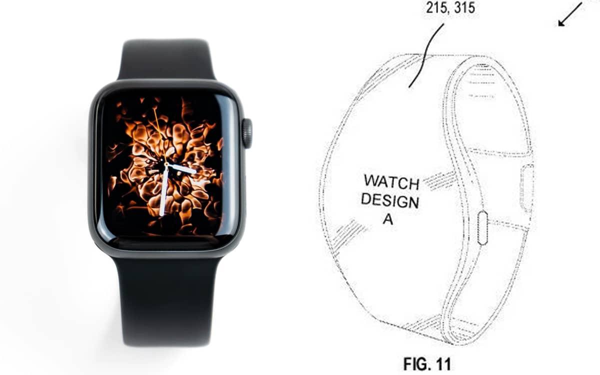 Apple Watch comparaison design