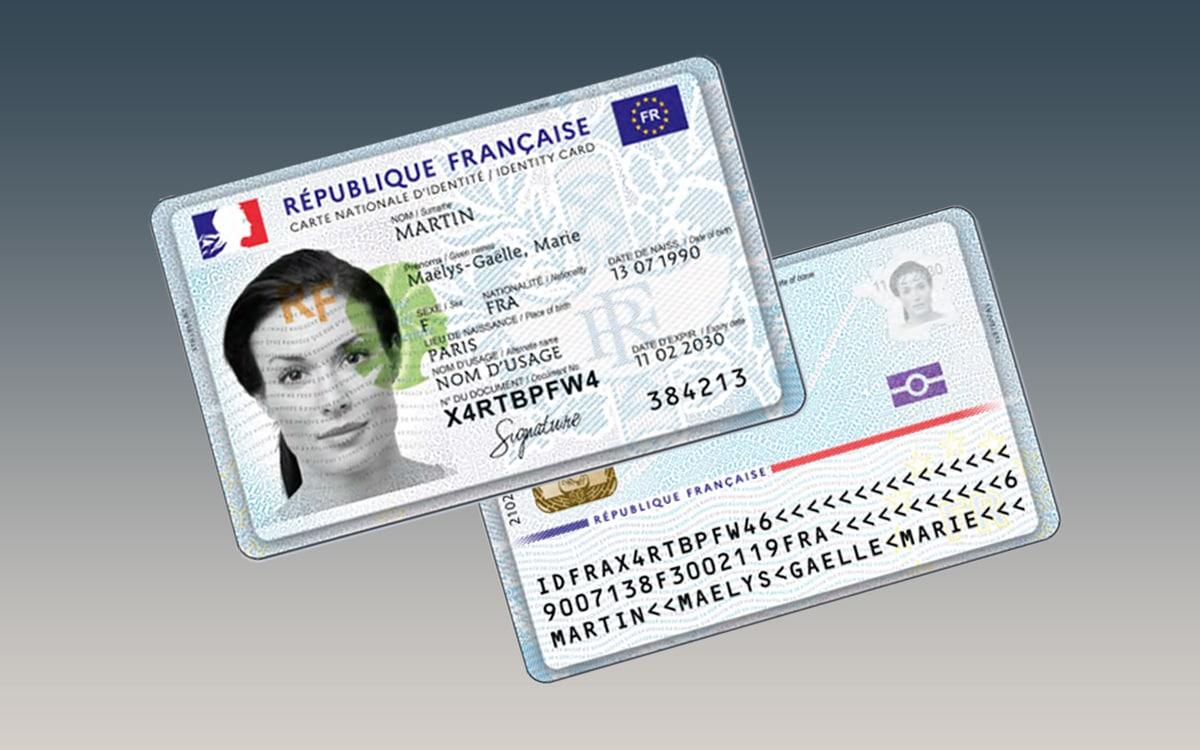 carte identité numerique