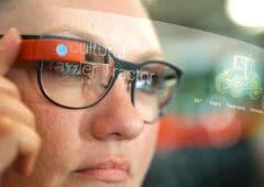 facebook lunettes connectées contrôler gants