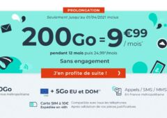 forfait Cdiscount Mobile 200 Go