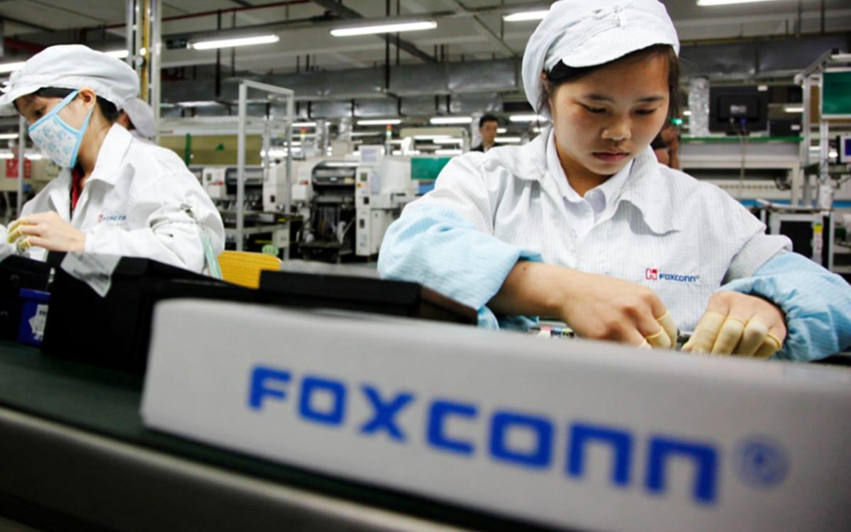 foxconn pénurie puces