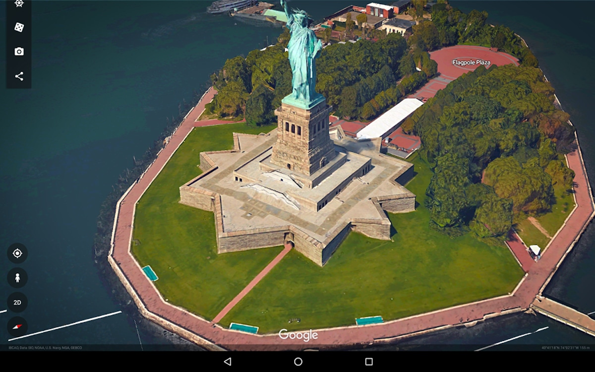 google earth android - Google Earth (Android) can finally go back in time to compare satellite photos