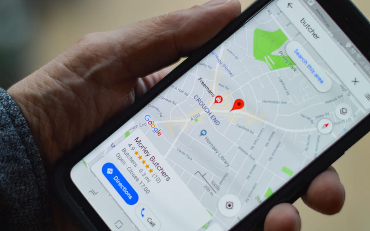 google maps trajet ecolo