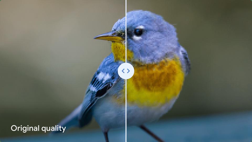 Google Photos comparaison