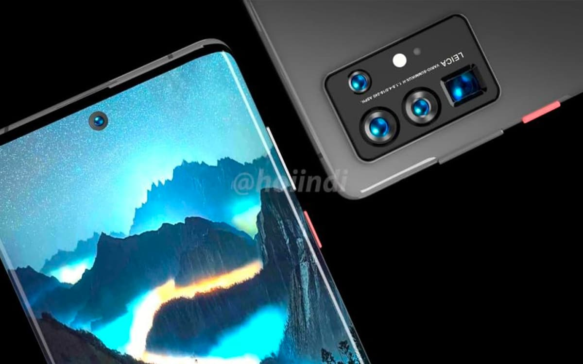 huawei p50 hoiindi via twitter - The Huawei P50 will be the first smartphone on the market under HarmonyOS - PhonAndroid