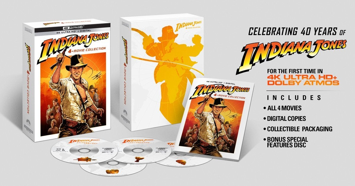 Indiana Jones Blu-Ray 4K