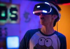 joueur casque realite virtuelle