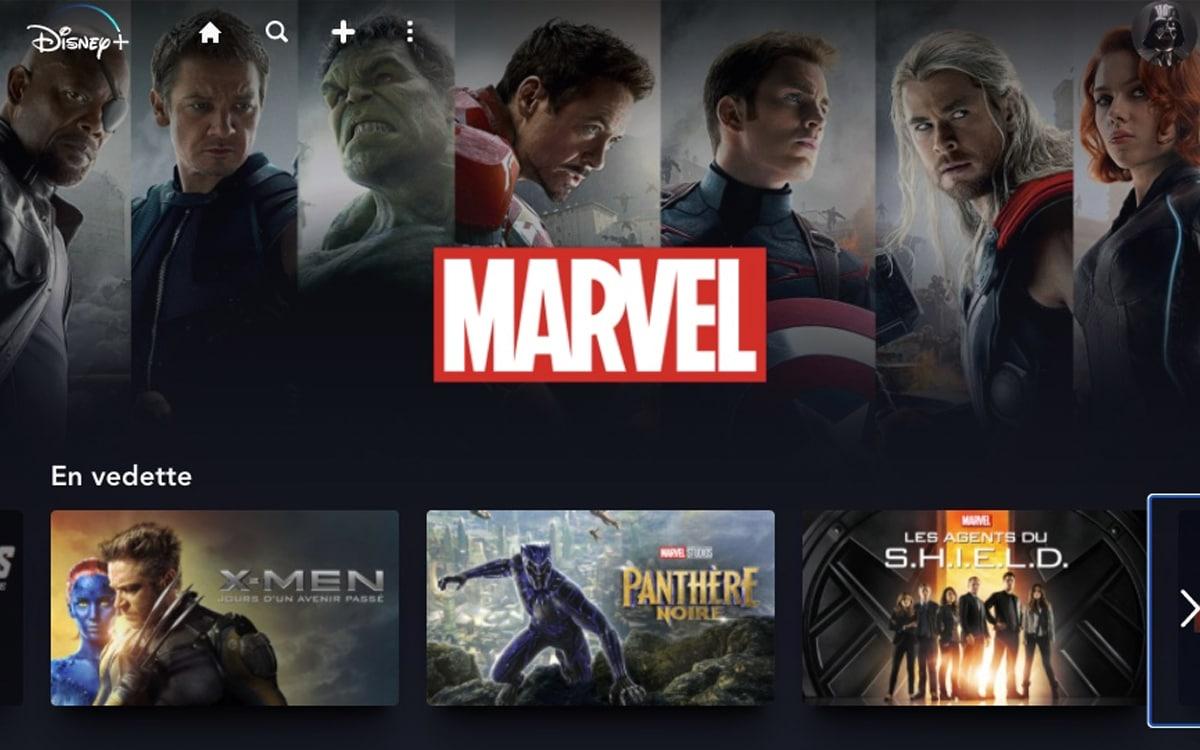 Marvel MCU Disney+