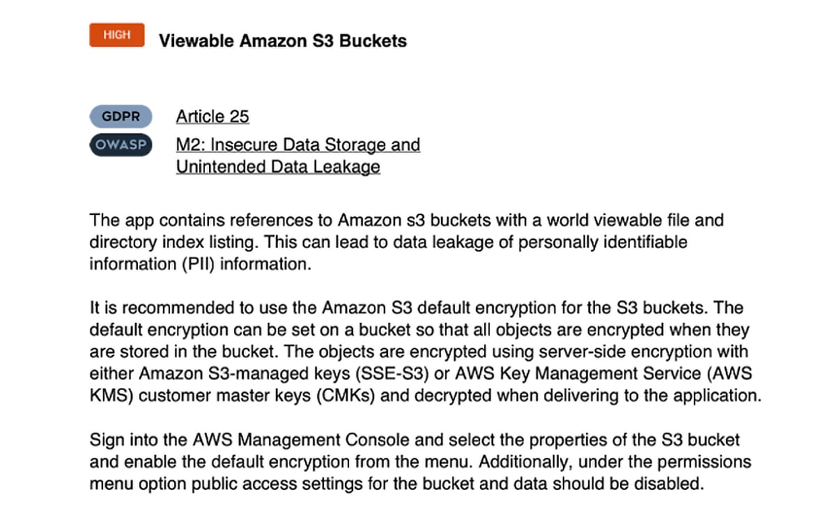 Amazon cloud security letter example