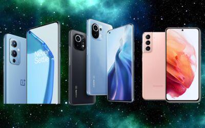 OnePlus 9 Mi 11 Galaxy S21