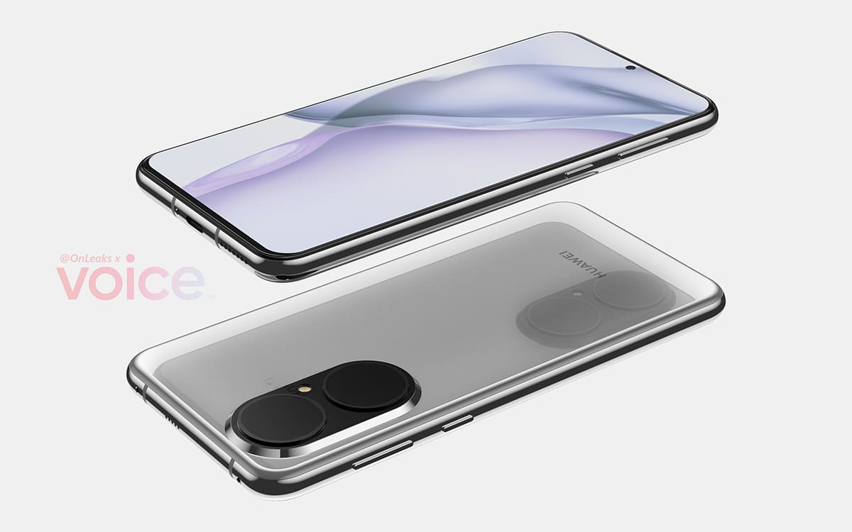 p50 copie - Huawei P50: here is the design of the standard version