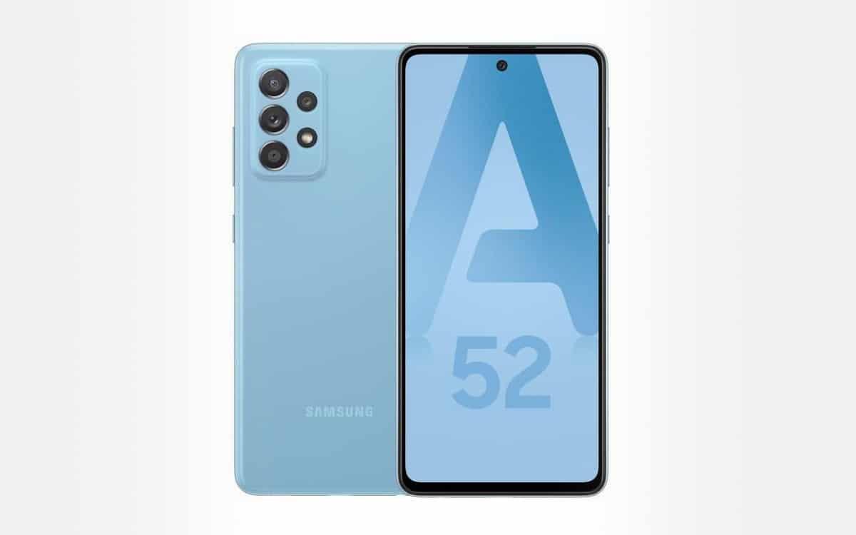 Samsung Galaxy A52 meilleur prix