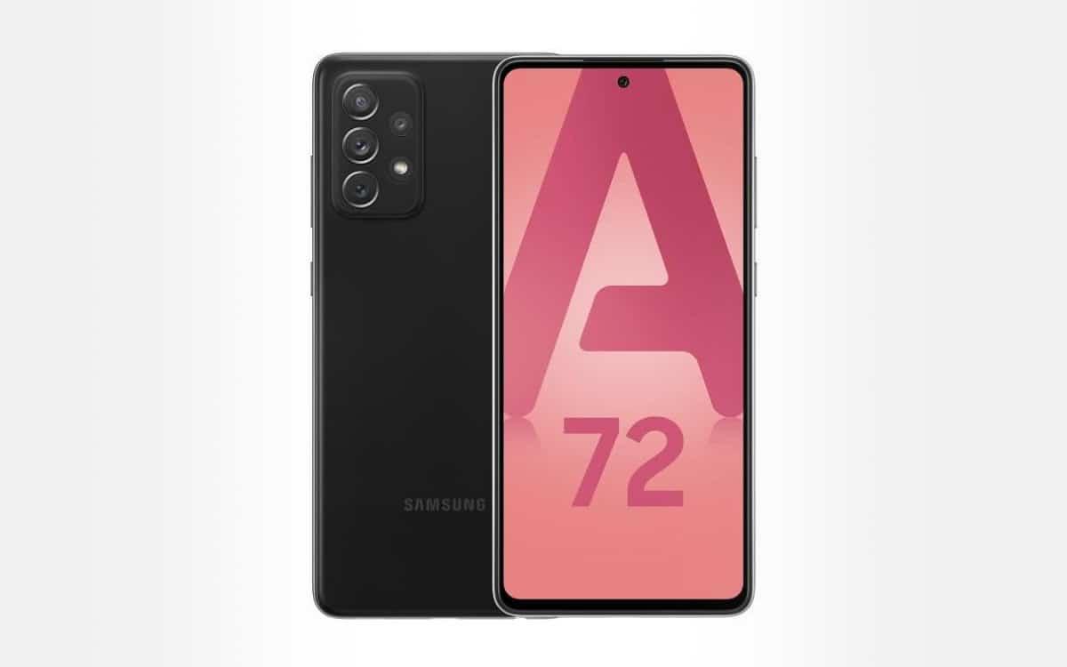 Samsung Galaxy A72 meilleur prix