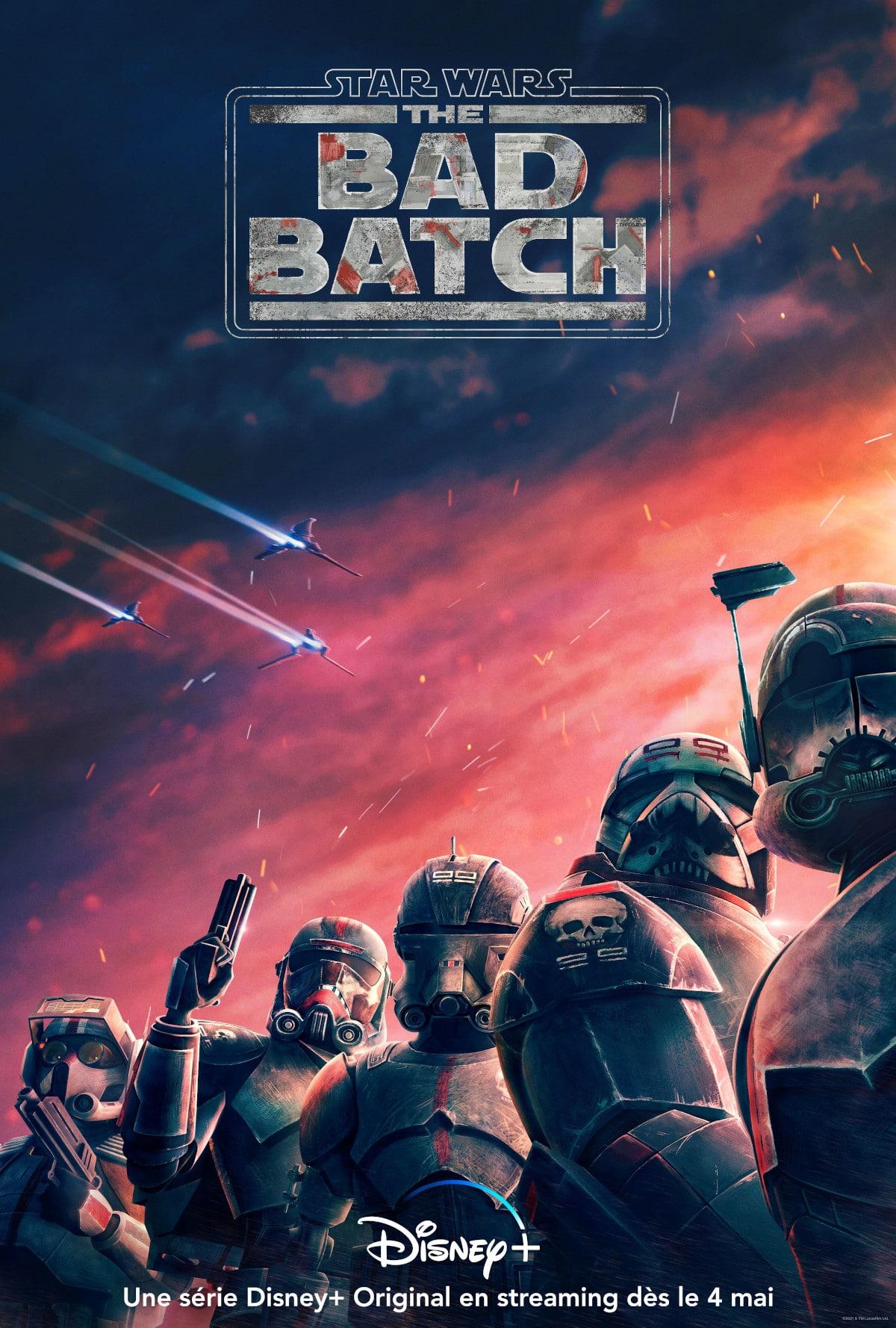 star wars bad batch affiche officielle