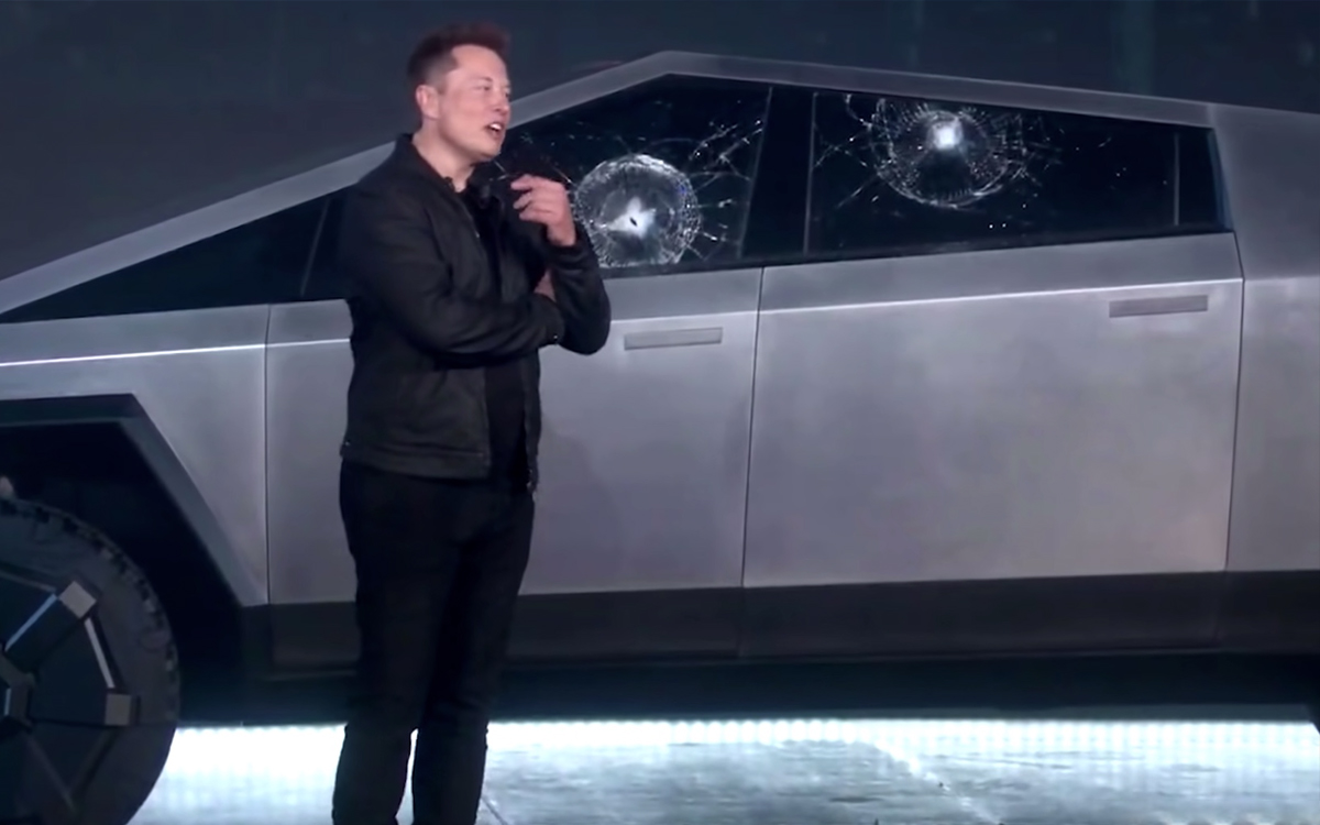 Tesla Cybertruck présentation