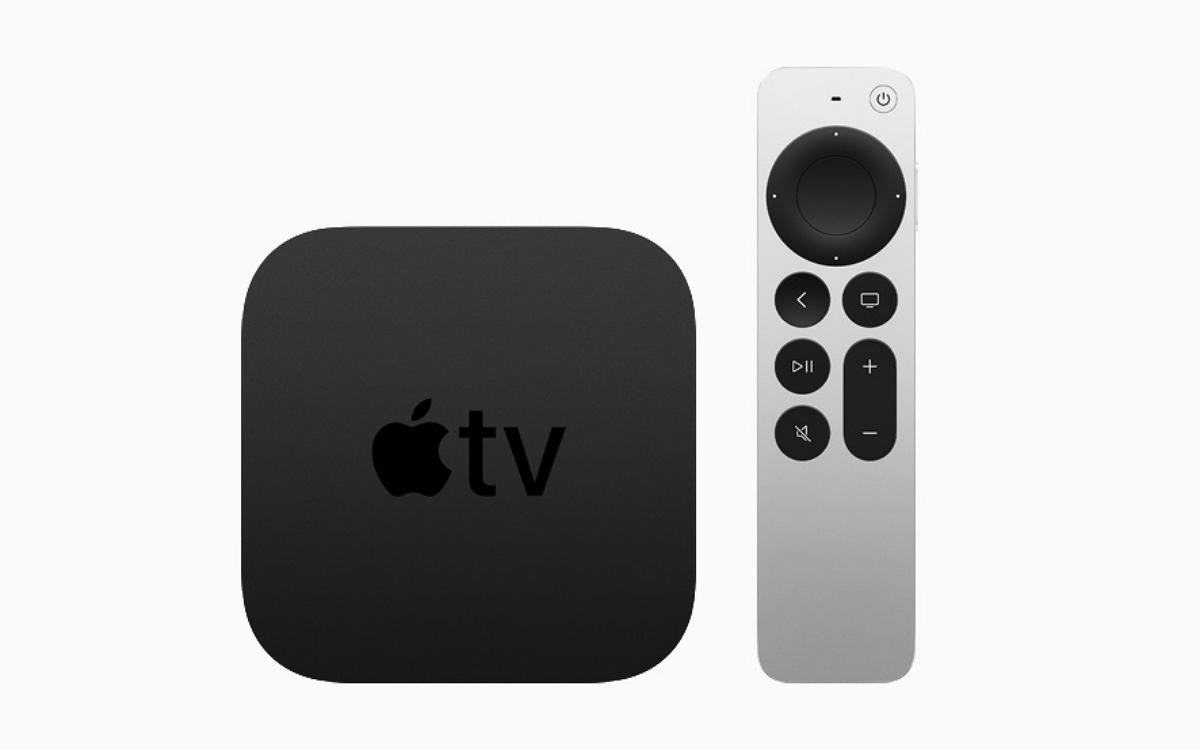 Apple TV 4K et sa nouvelle télécommande