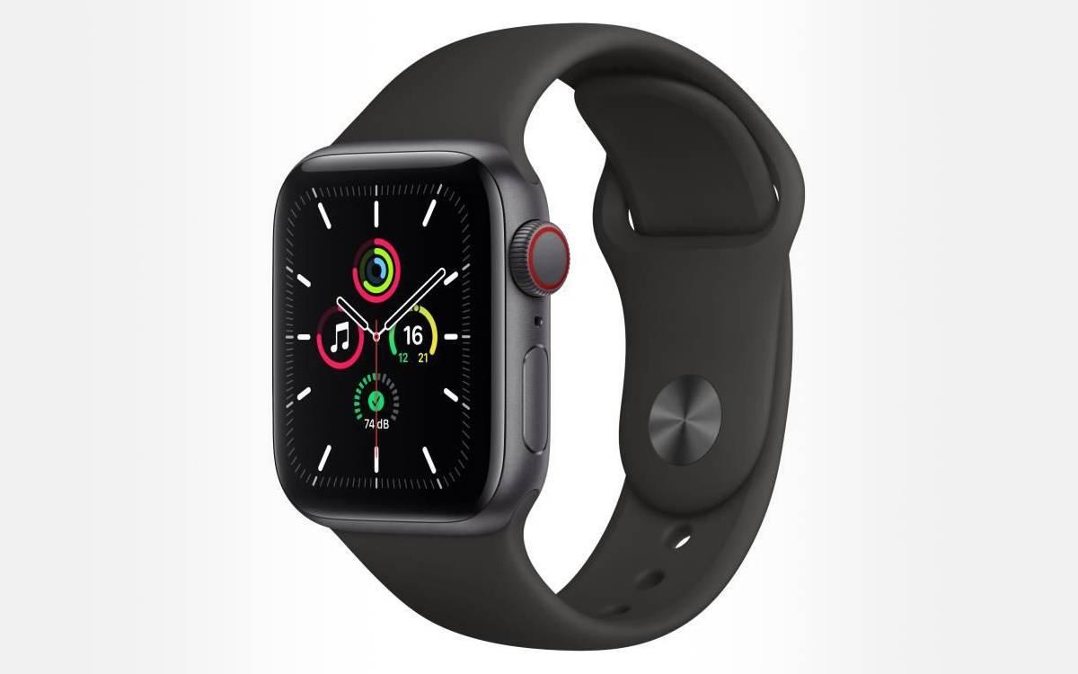 Apple Watch SE à prix réduit chez Cdiscount