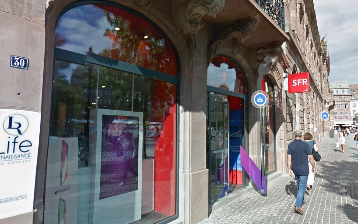 Boutique SFR Place Klébert