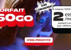 Forfait nrj mobile 60 Go