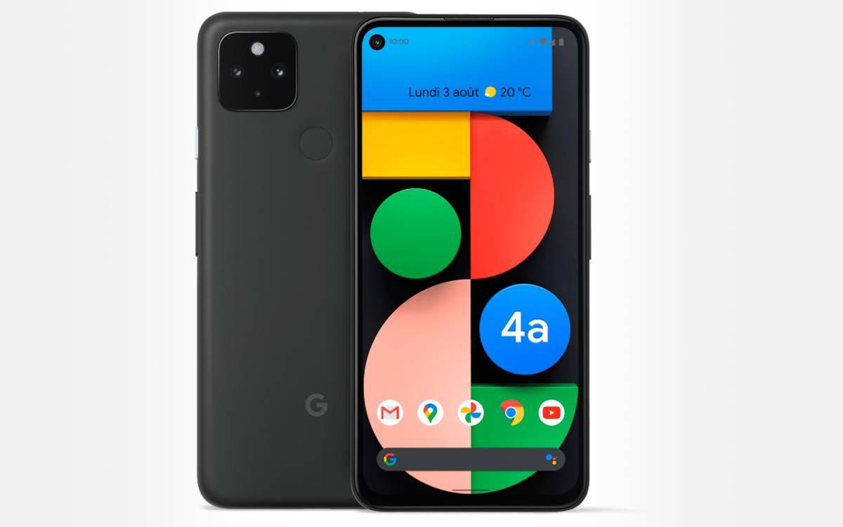 Google Pixel 4a en promotion